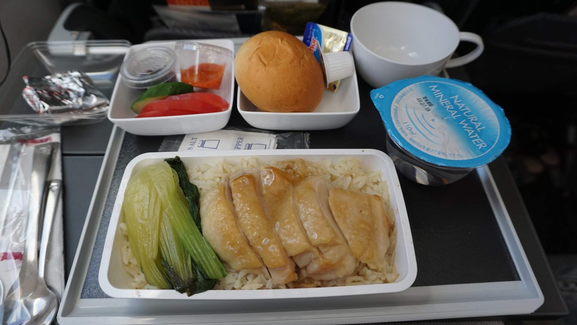 シンガポール航空チキンライス